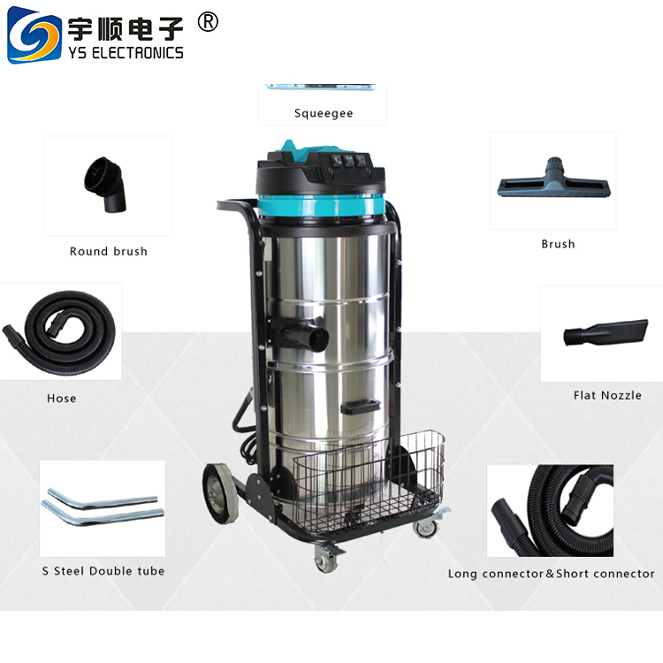 Aluminum scrap vacuum cleaner