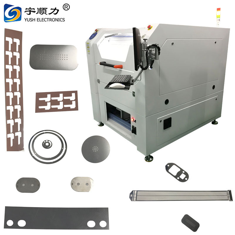 Sheet Metal Stencil Laser Depaneling Machine / SMT Cutting Equipment,Sheet Metal Stencil Laser Depaneling Machine / SMT Cutting Equipment direct from YUSH Electronic Technology Co., Ltd. in China