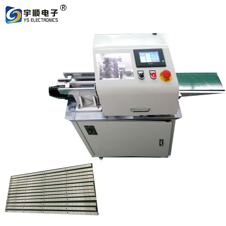 0.8 - 3.0 mm Thick Pcb Depaneling Machine With LCD Display High Speed Steel Blade